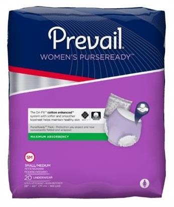 Prevail PurseReady Women Underwear – Maximum Absorbency