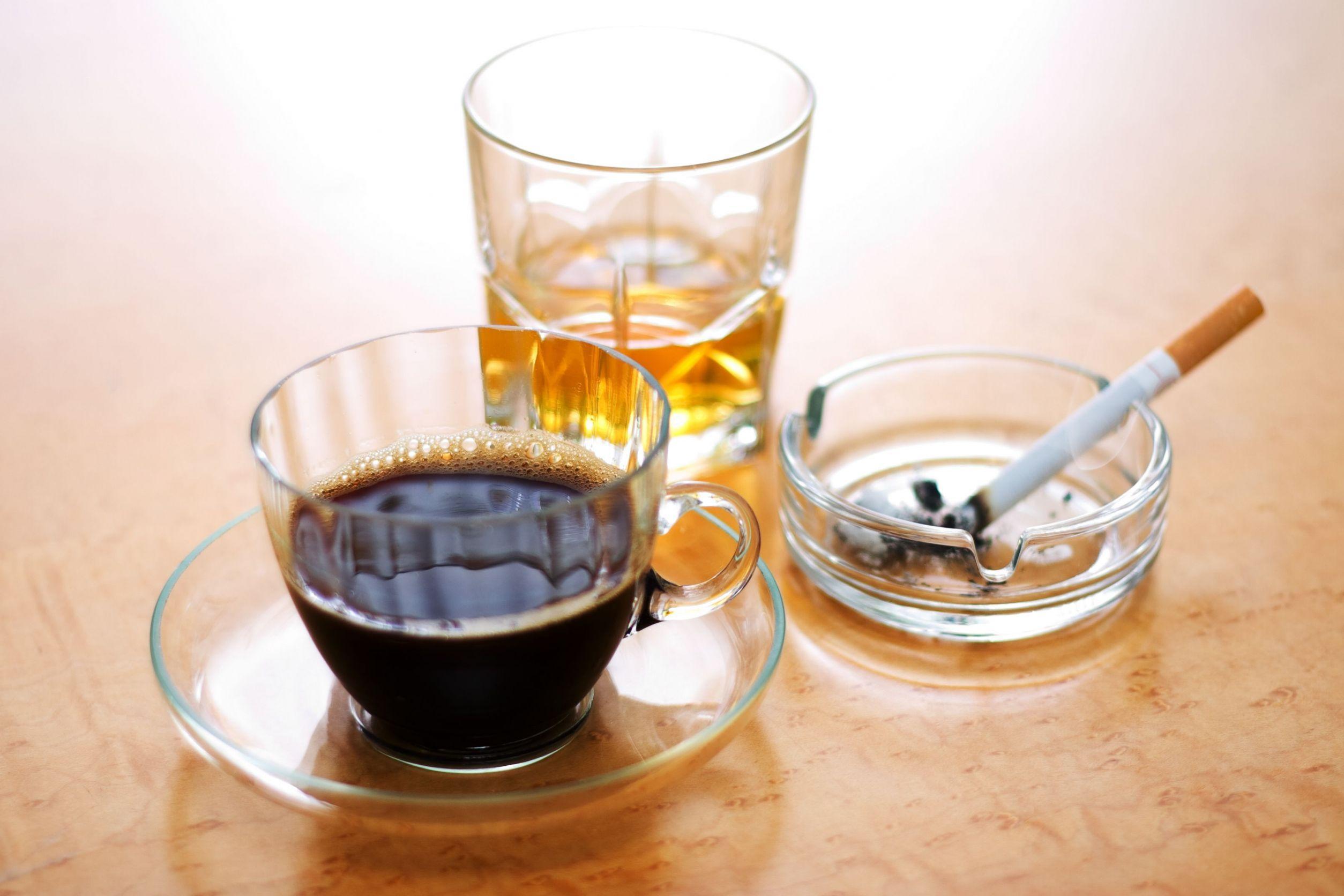 Alcohol & tobacco: