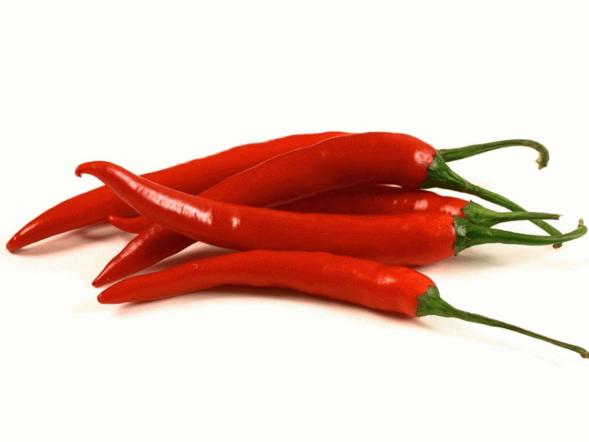 Spicy and acidic food: