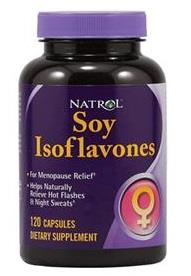 Natrol Soy Isoflavones For Menopause Relief