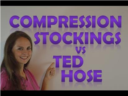 TED vs. Compression Stockings